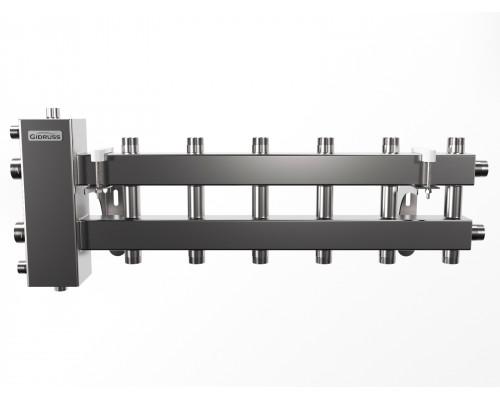 BMSS-100-7DU (до 100 кВт, подкл. котла G 1??, 3+3+1 контура G 1?)
