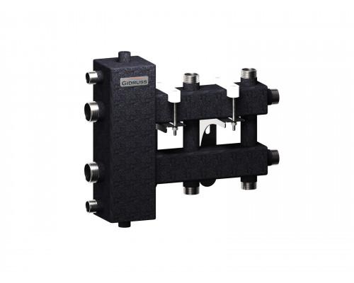BM-100-3DU (до 100 кВт, подкл. котла G 1¼″, 1+1+1 контура G 1″)