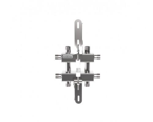 Модульный коллектор из нерж. стали MKSS-40-3DU
