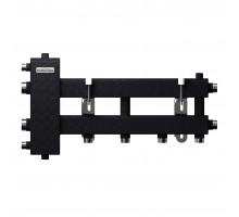 BM-100-3D (до 100 кВт, подкл. котла G 1¼″, 2+1 контура G 1″, цвет ″черный муар металлик″)